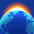Living Earth - Clock & Weather