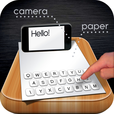 Paper Keyboard - Fast typing and playing with an alternative printed projector keypad